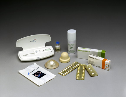 Female contraceptives, 2000.