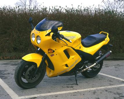 Triumph 1200cc 'Daytona' motorcycle, c 1997.