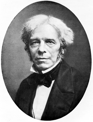 Michael Faraday, English chemist and physicist, c 1840.