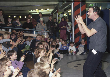 Math-a-Magic', half term event for children, Science Museum, Feb 2000.