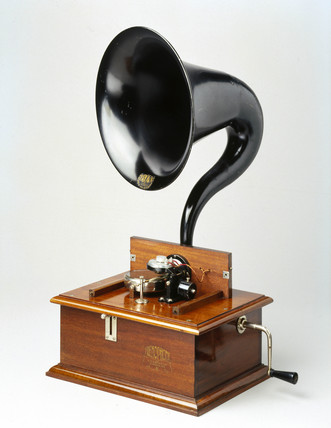 Frenophone loudspeaker amplifier, 1922.