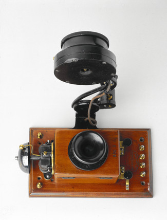 Edison telephone, 1879.