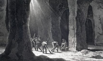 'Interior of a Salt Mine', 1807.