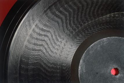 Baird Phonovision disc, c 1928.