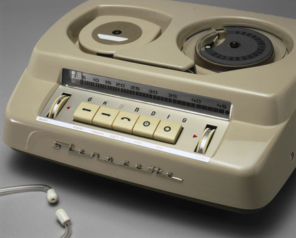 Grundig Stenorette 'M' dictating machine, 1955.