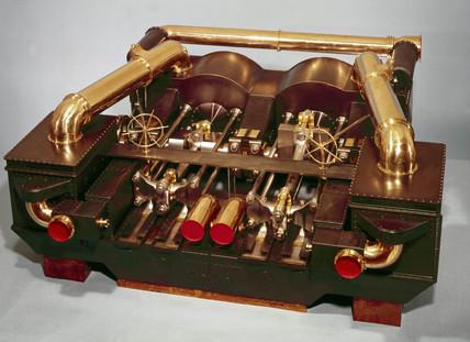 HMS 'Monarch' engines, 1868.