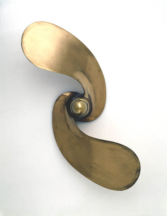 Screw propeller, weedles type, c 1914.
