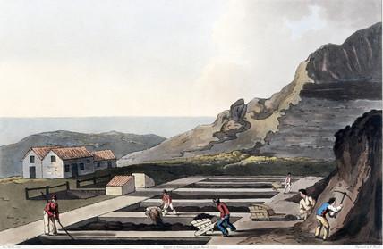 'Alum Works', North Yorkshire, 1814.