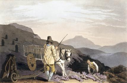 'Peat Cart', 1814.