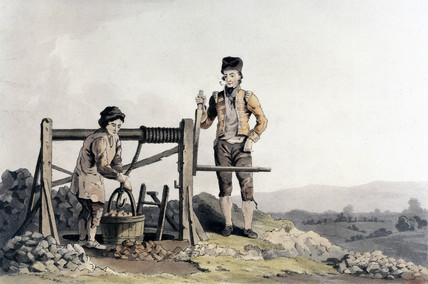 'The Ruddle Pit', 1814.