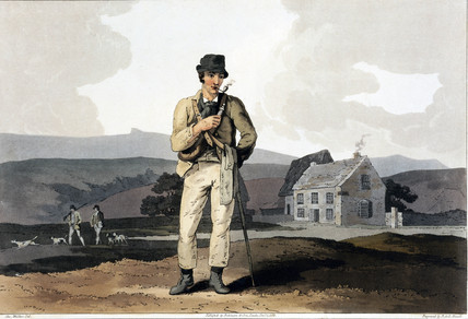 'The Moor Guide', 1814.
