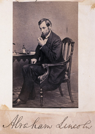 Abraham Lincoln, President of the United States of America, c 1840s.
