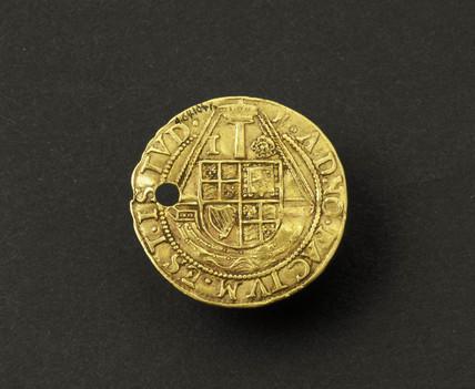 Jacobean touchpiece, English, 1610-1620.
