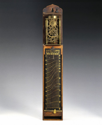 Pillar clock, Japanese, 1800-1870.