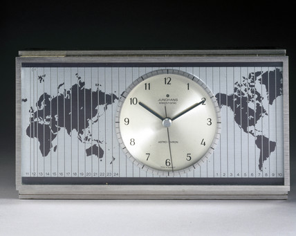 Junghans 'Astro-Chron' quartz desk clock, 1967.
