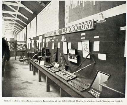 Francis Galton's First Athropometric Laboratory, 1884-1885.