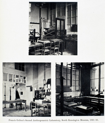 Francis Galton's First Anthropometric Laboratory, 1884-1885.
