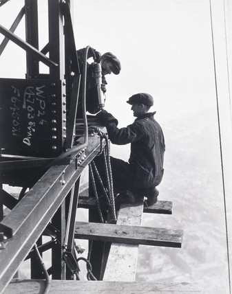 Riveting Gang, Empire State Building', c 1933.