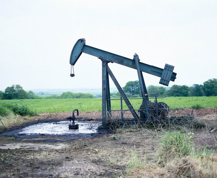 Oil pumping engine, Eakring, Nottinghamshire, 4 June 1981.