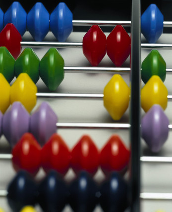 Japanese abacus, 2001.