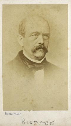 Prince Otto von Bismarck, Pruso-German statesman, c 1870s.