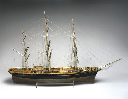 Tea clipper 'Cutty Sark', 1869.