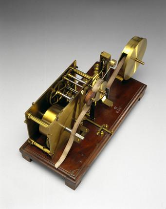 Bain's chemical telegraph, 1850.
