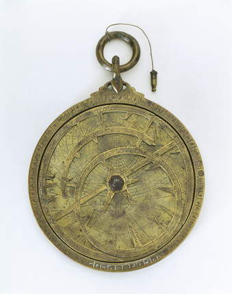 Planispheric astrolabe, Syrian, 9th century.