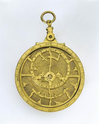 Hispano-Moorish planispheric astrolabe, c 1430.