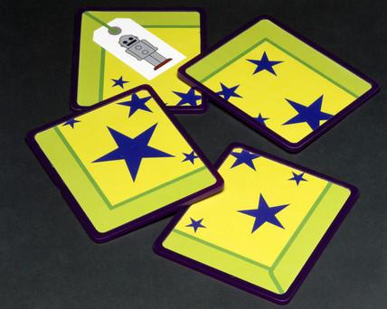 Star jigsaw puzzle, 2000.