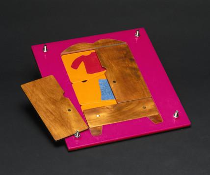Wardrobe jigsaw puzzle, 2000.