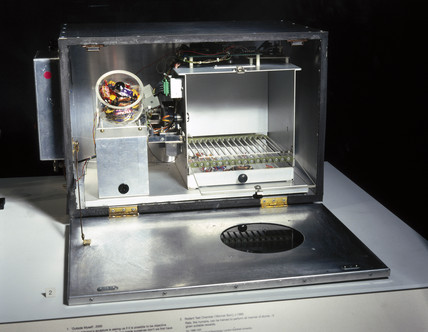 Exhibit on display in the 'Mind Your Head' exhibition, January 2001.