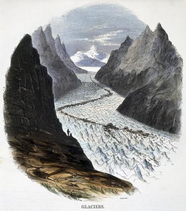 'Glaciers', 1849.