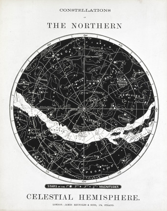 'Constellations of the Northern Celestial Hemisphere', c 1850.