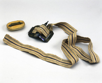 Tourniquet from a set of amputation instruments, German, 1831-1870.