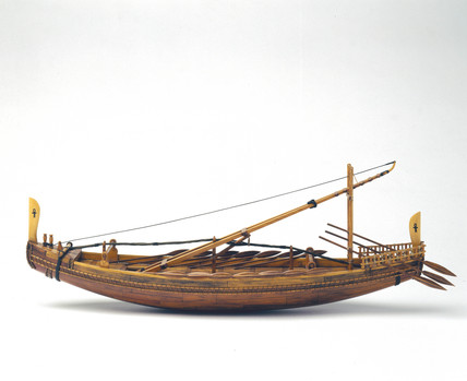 Egyptian seagoing ship, c 2500 BC.