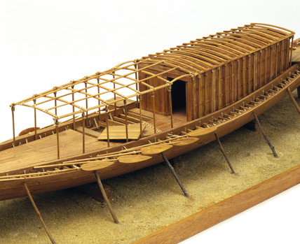 Royal ship of Cheops, c 2500 BC.