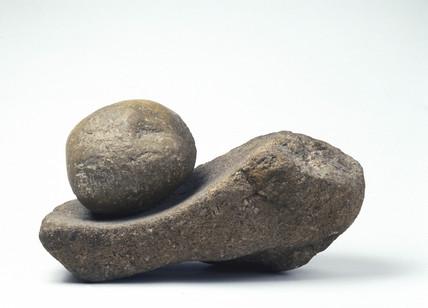 Stone quern.