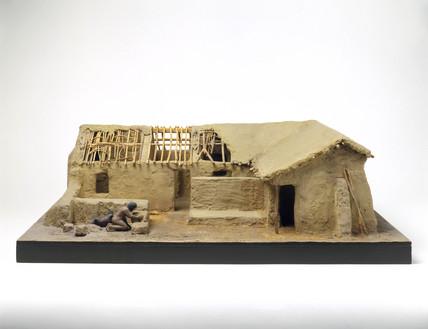 Mud brick house, c 5000 BC.
