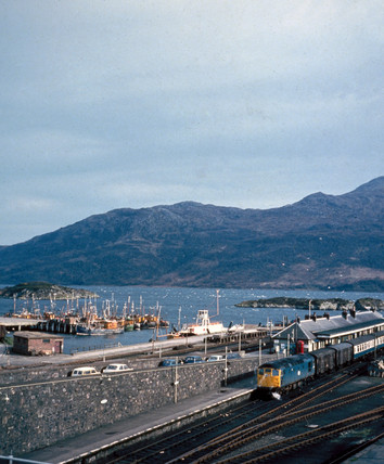 Kyle of Lochalsh railway station, Highlands