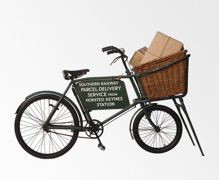 Southern Railway delivery bicycle, 1923-1947.