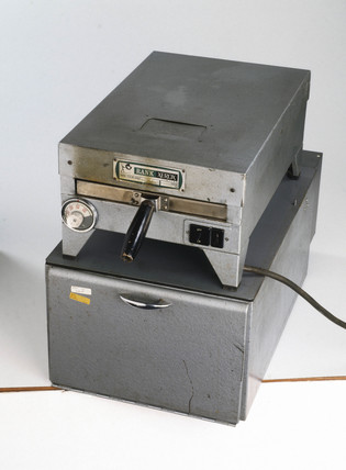Rank Xerox standard 1385 copying machine, c 1960.