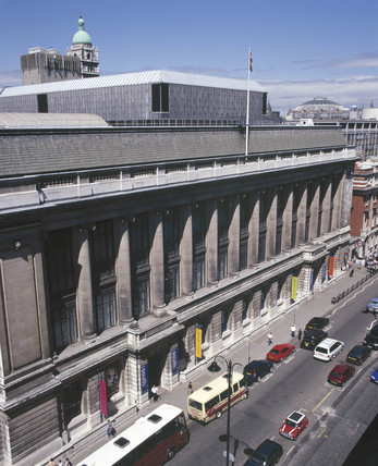 The Science Museum, Exhibition Road, London, June 2001.