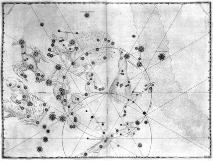 Constellations from 'Uranometria', 1603.