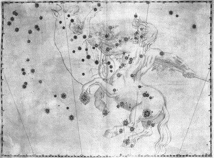 The constellation Centaurus, featuring Alpha Centauri, 1603.