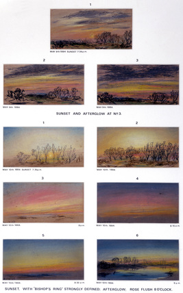 Sky sketches, Chelsea, London, 9-10 May 1884.