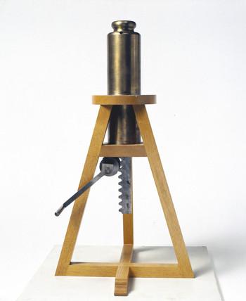 The Boyle-Hooke vacuum pump, 1659.