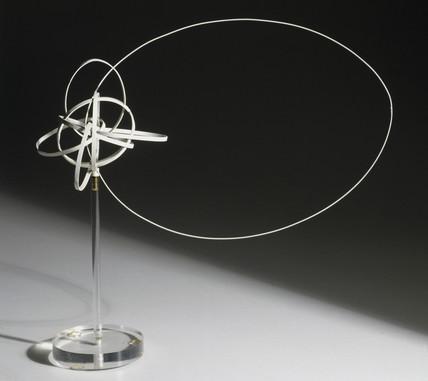 Sodium atom model, c 1912-1926.