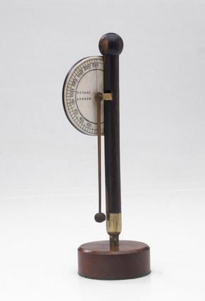 Henley's electrometer, c 1770.