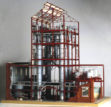 Woodall-Duckham continuous tar distillation plant, c 1956.